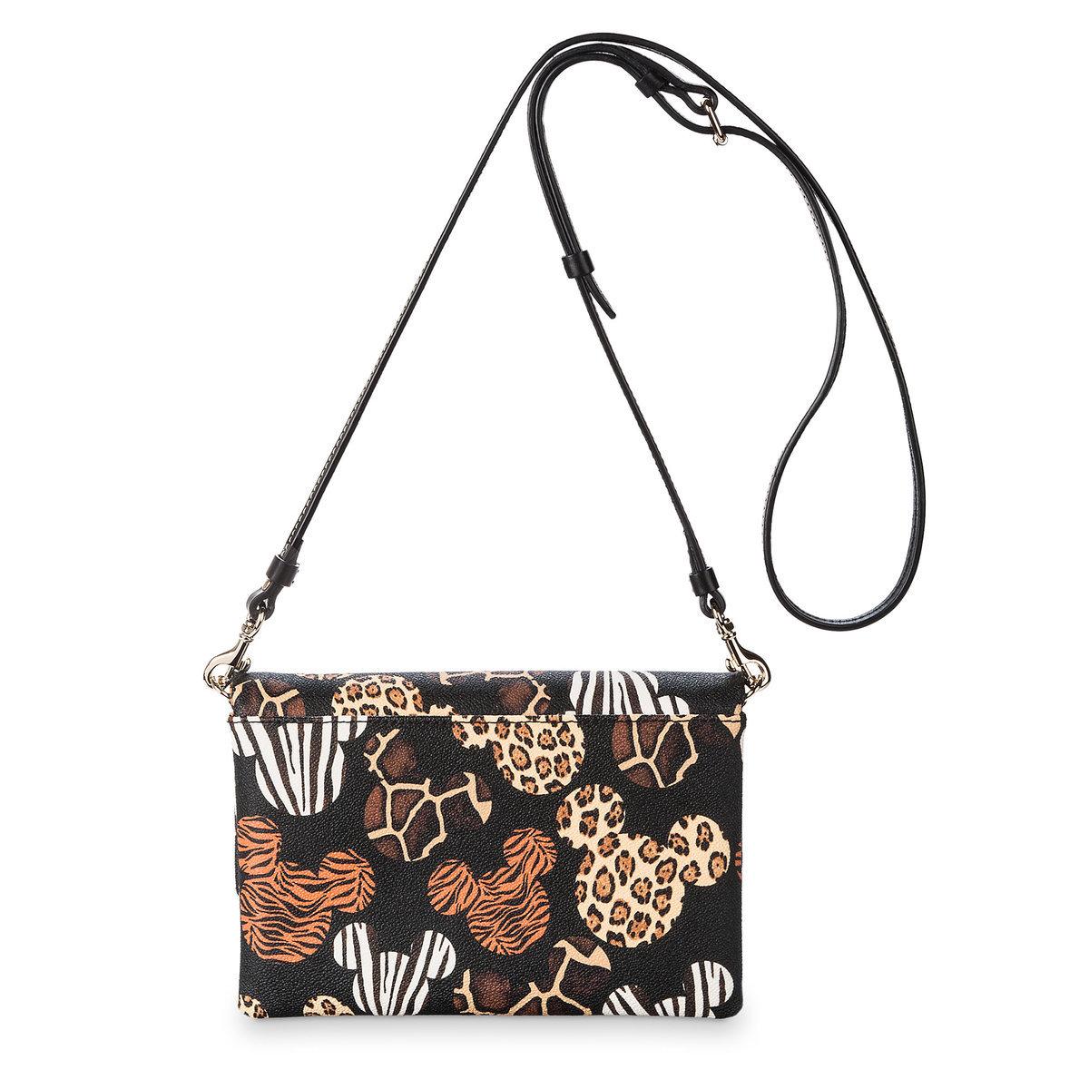 47462b749f22 Disney Dooney & Bourke Bag - Mickey Animal Print Foldover Crossbody