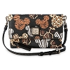 Disney Dooney & Bourke Bag - Mickey Animal Print Foldover Crossbody