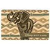 Disney Gift Card - Animal Kingdom 20th Anniversary - Wooden - Elephant