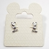 Disney Earrings - Mickey Mouse Silhouette - Hands on Hips