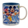 Disney Coffee Cup - 2018 - Six Pack Pals - Blue