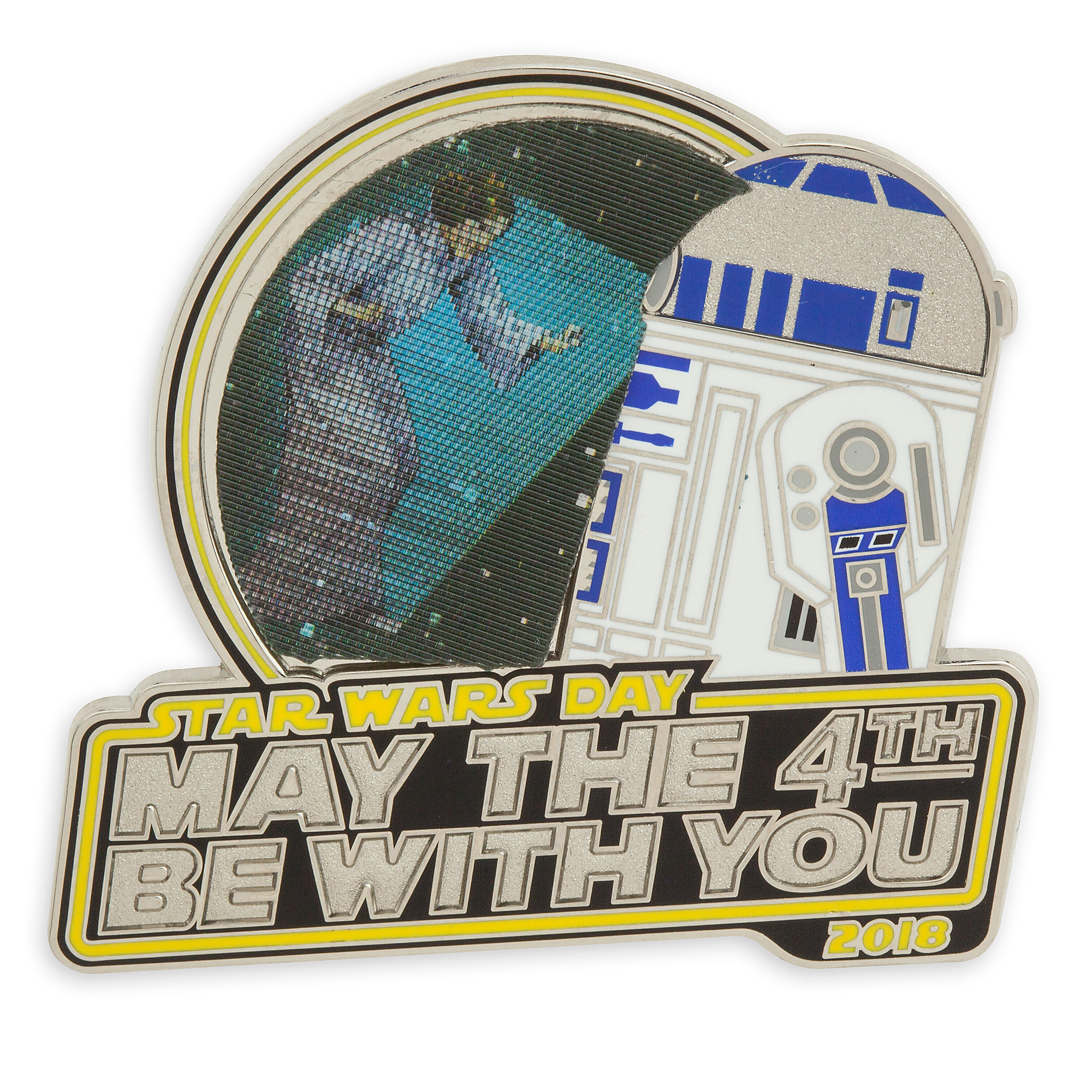 Disney Star Wars Pin - R2-D2 May the 4th Be With You Pin
