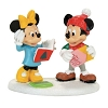Disney Dept. 56 Figure Set - Mickey and Minnie Card Exchange
