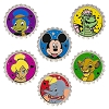 Disney Mystery Pin - Magical Mystery Bottle Cap - 6 Pin Set