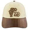 Disney Baseball Cap -  Animal Kingdom 20th Anniversary - Wooden Bill