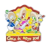 Disney Cinco De Mayo Pin - 2018 Cinco De Mayo - Three Caballeros