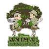 Disney Animal Kingdom Pin - 20th Anniversary - Mickey and Minnie