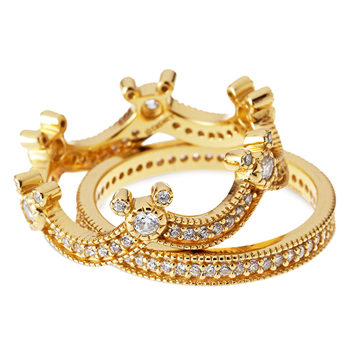 Disney Rebecca Hook Ring - Mickey Mouse Crown