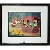 Disney Framed Sericel - Not Even A Mouse - The Night Before Christmas