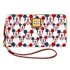 Disney Dooney and Bourke Wallet - Mickey Mouse Americana