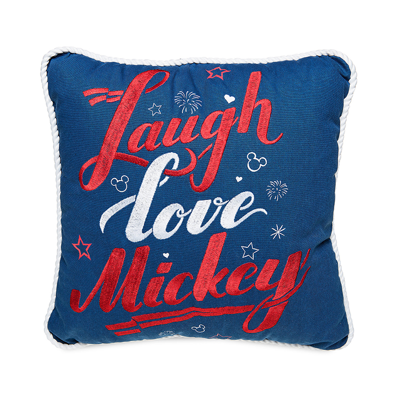 Disney  Throw Pillow - Mickey Mouse - Live Laugh Love