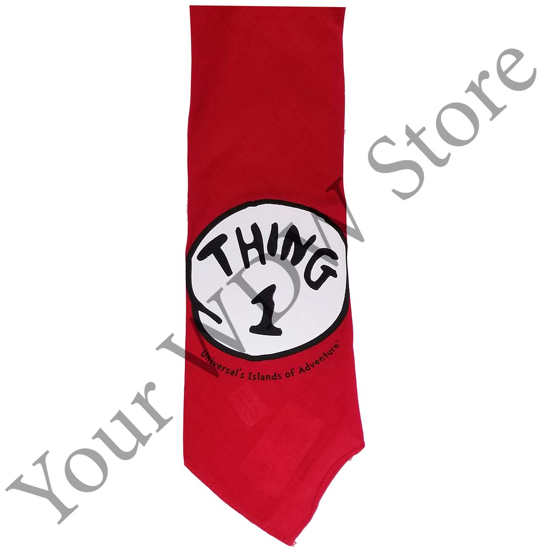 Universal Pet Bandana - Cat in the Hat Thing 1