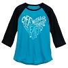 Disney Women's Shirt - Off with Their Heads - Queen of Hearts Raglan