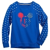 Disney Women's Shirt - Americana Mickey Mouse Pullover