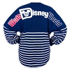 Disney Adult Shirt - Disney World Spirit Jersey - Americana Red White Blue