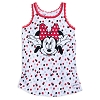 Disney Girl's Shirt - Minnie Mouse - Bow Crazy Tank Top