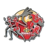 Disney Incredibles Pin - 2018 The Incredibles 2 Logo