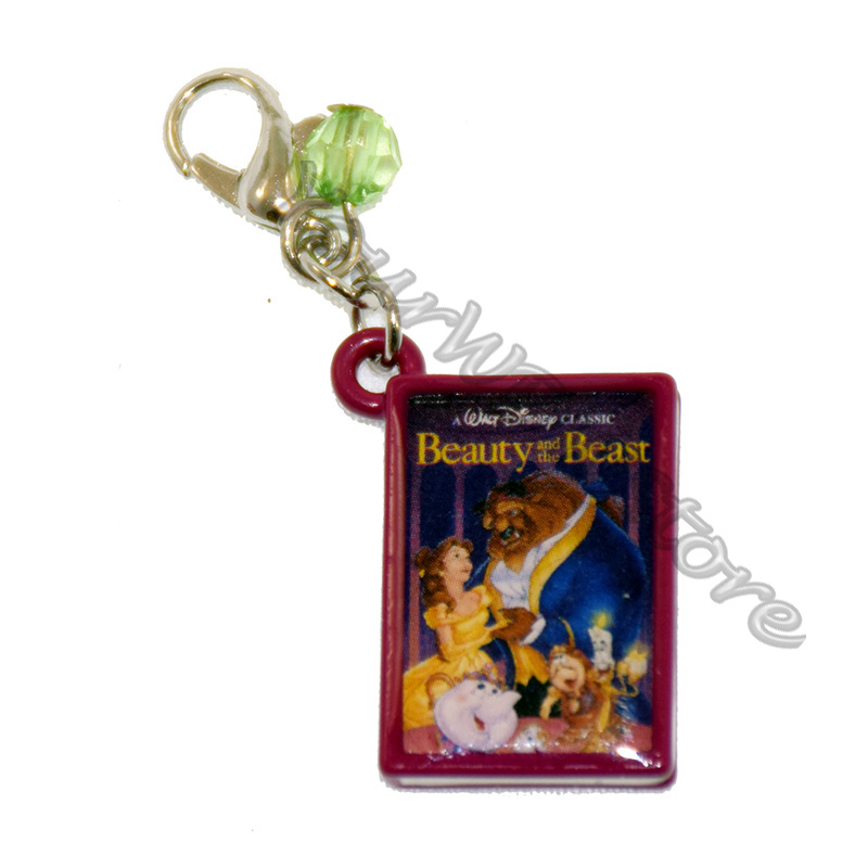 Disney Dangle Charm - Charmed In The Park - Beauty and Beast Book