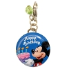 Disney Dangle Charm - Charmed In The Park - Happy Birthday Button