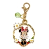 Disney Dangle Charm - Charmed In The Park - Minnie Mouse Circle