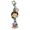 Disney Dangle Charm - Charmed In The Park - Belle Cuties Dangle