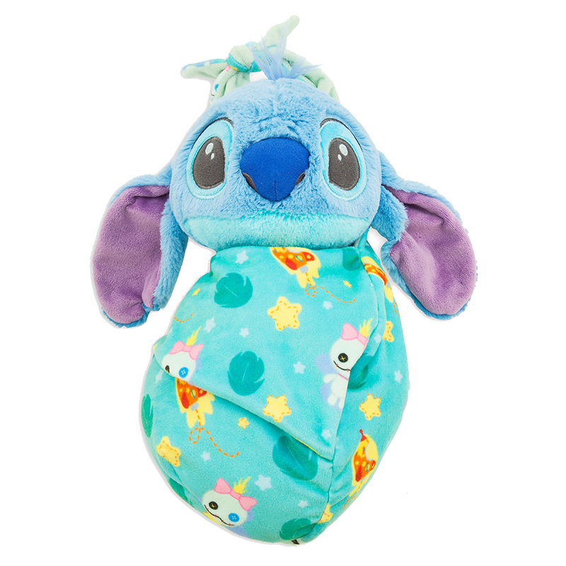 Disney Babies Plush - Baby Stitch with Blanket Pouch