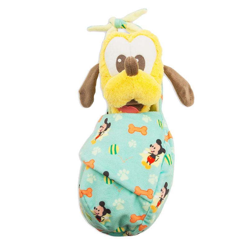 Disney Babies Plush - Baby Pluto with Blanket Pouch