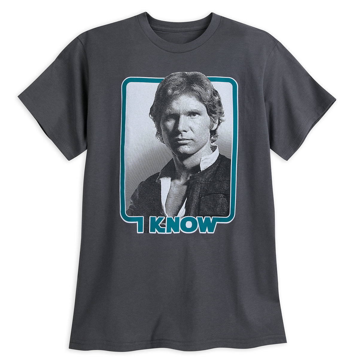 Disney Adult Shirt Star Wars Han Solo I Know