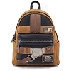 Disney Loungefly Mini Backpack - Solo: A Star Wars Story Han Solo Cosplay - Faux Suede