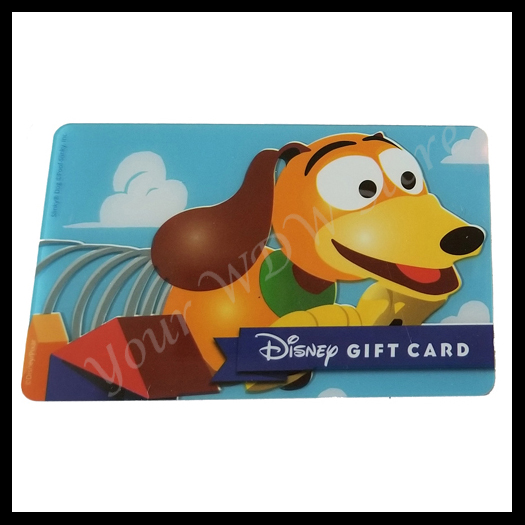 Disney Collectible Gift Card - Toy Story Slinky Dog