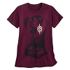 Disney Women's Shirt - Tower of Terror Lady - Red
