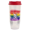 Disney Tumbler Glass - Rainbow Sorcerer Mickey Mouse