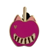Disney Hidden Mickey Pin - 2015 A Series - Character Apples - Cheshire Cat
