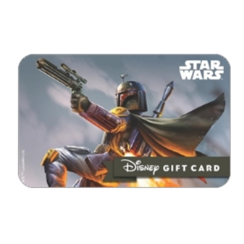 Disney Collectible Gift Card - Star Wars - Boba Fett