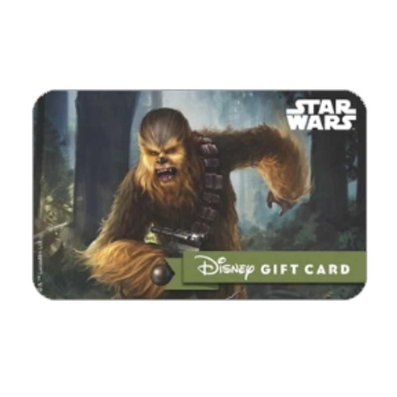 Disney Collectible Gift Card - Star Wars - Chewbacca