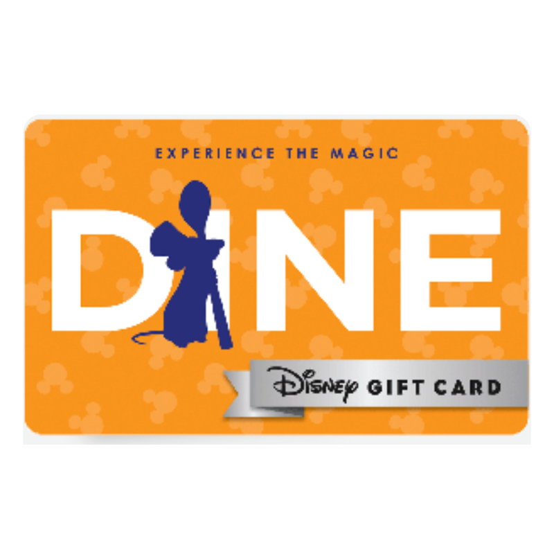 Disney Collectible Gift Card - Experience - Dine - Remy