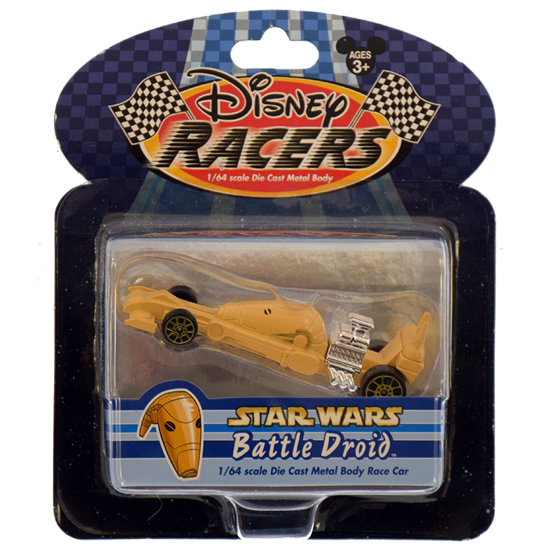 Disney Racers - Die Cast Car - Star Wars - Battle Droid