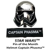 Disney Star Wars Helmets Series Pin - #5 Captain Phasma