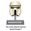 Disney Star Wars Helmets Series Pin - #7 ShoreTrooper