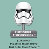 Disney Star Wars Helmets Series Pin - #9 First Order StormTrooper