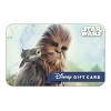 Disney Collectible Gift Card - Star Wars - Chewbacca and the Porgs