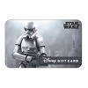 Disney Collectible Gift Card - Star Wars - Stormtrooper