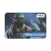 Disney Collectible Gift Card - Star Wars - Yoda