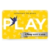 Disney Collectible Gift Card - Experience - Play - Tinker Bell