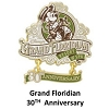 Disney Grand Floridian Pin - 30th Anniversary