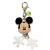 Disney Dangle Charm - Charmed In The Park  -  Mickey Face - Dangle