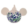 Disney Ornament - Reinhard Herzog - Mickey Ears - Blue Green - Large