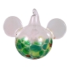 Disney Ornament - Reinhard Herzog - Mickey Ears - Green Yellow - Large