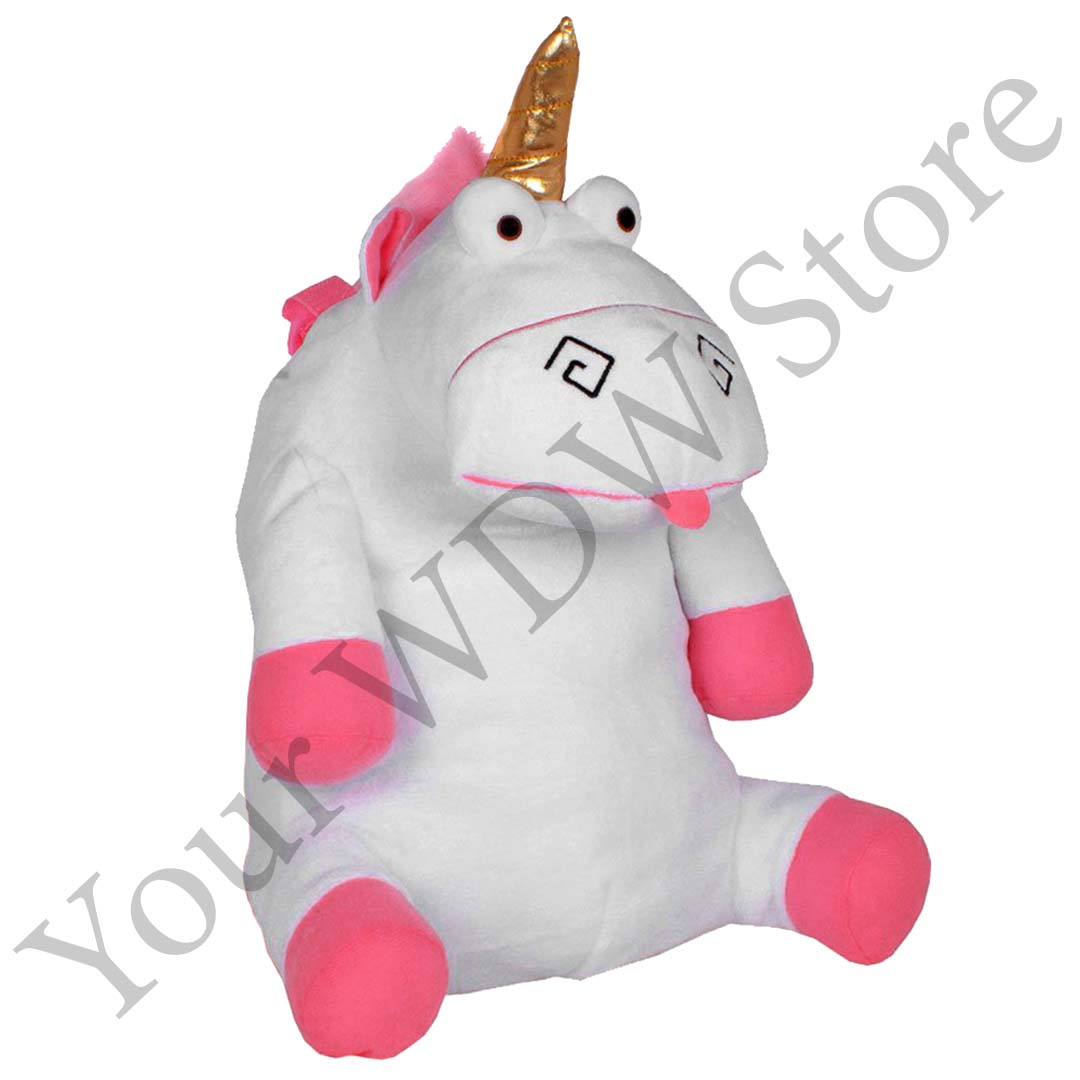 Universal Backpack Despicable Me Unicorn Plush With Nylon Straps