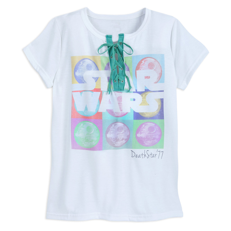 Disney Womens Tee - Star Wars - Death Star - Laced